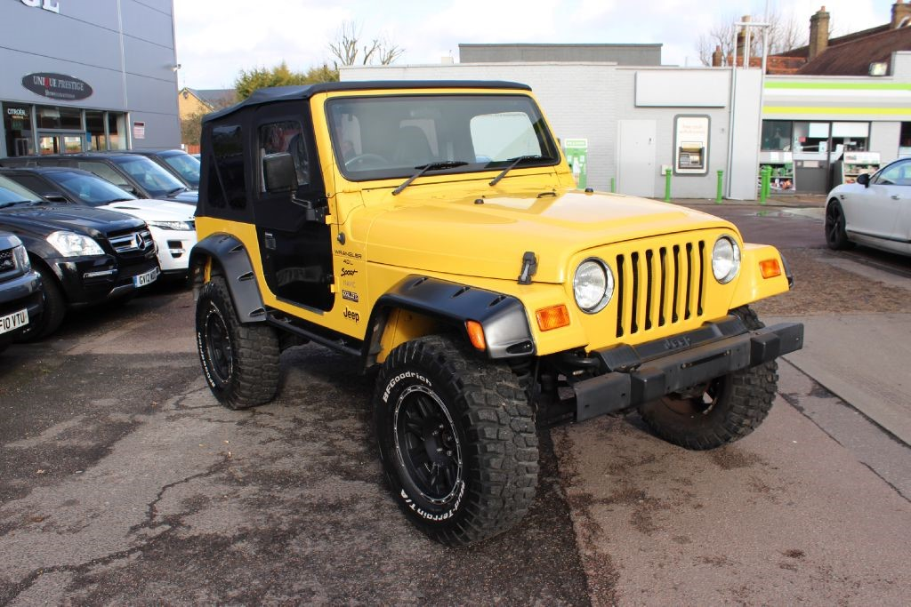 used yellow jeep wrangler for sale hertfordshire. Black Bedroom Furniture Sets. Home Design Ideas