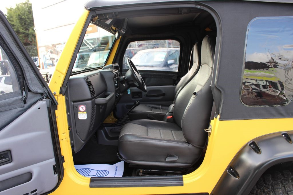 Used Yellow Jeep Wrangler for Sale   Hertfordshire