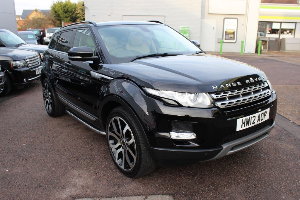 used black land rover range rover evoque for sale hertfordshire. Black Bedroom Furniture Sets. Home Design Ideas
