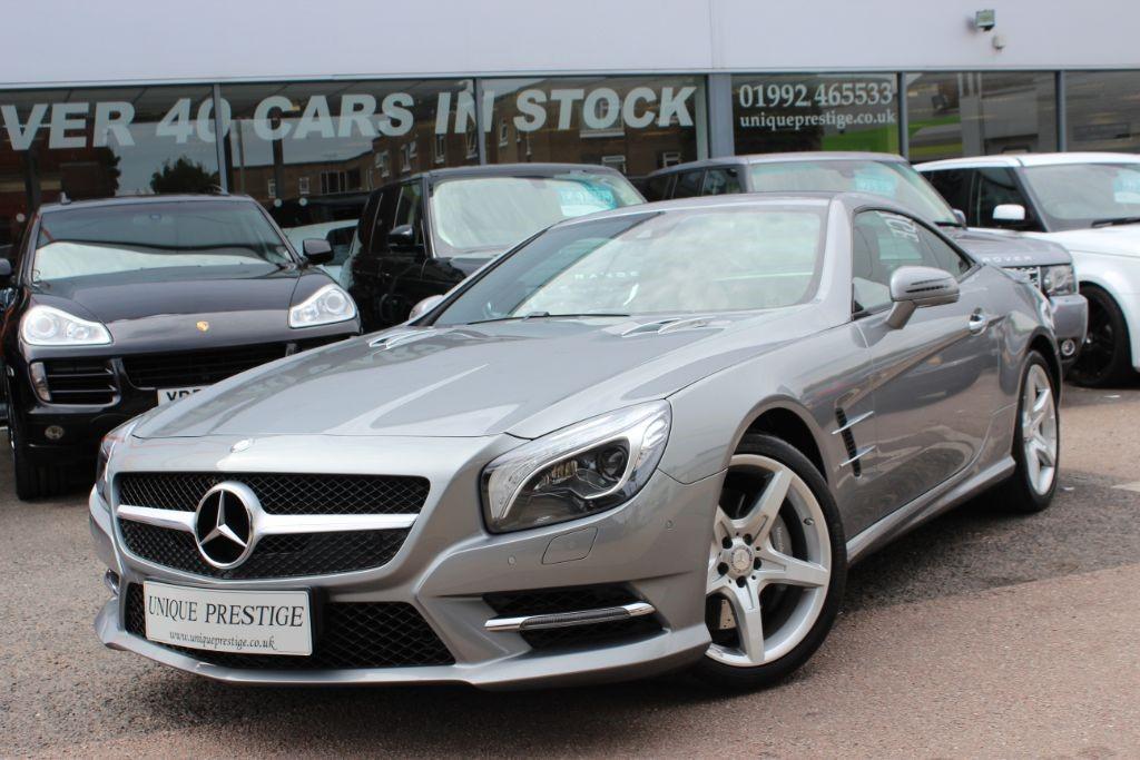 Used Silver Mercedes SL500 for Sale   Hertfordshire