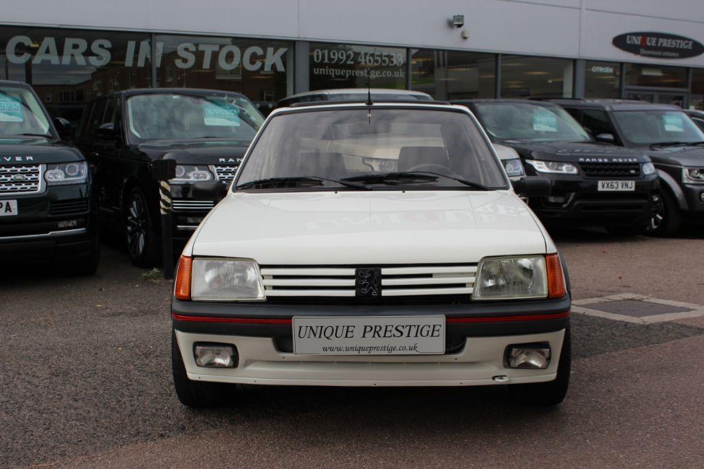 Used White Peugeot 205 for Sale   Hertfordshire