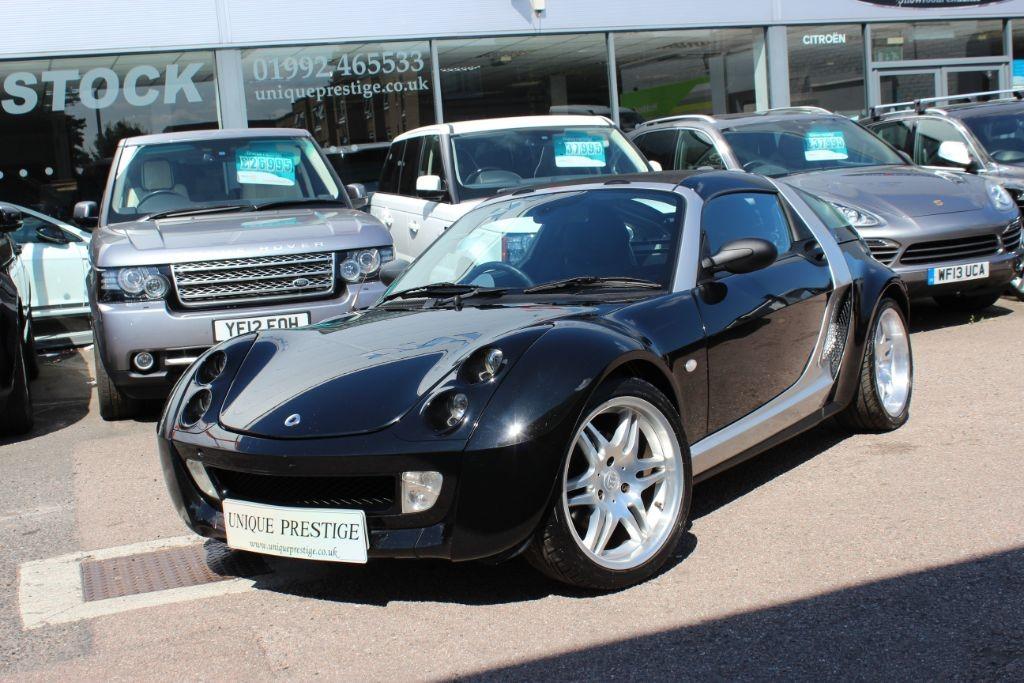 Used Black Smart Car Roadster for Sale   Hertfordshire