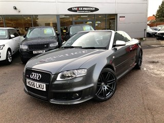 Audi RS4 Cabriolet for sale
