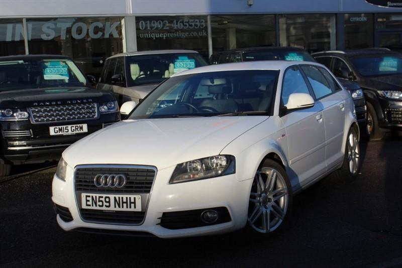 used Audi A3 TDI S LINE in hertfordshire
