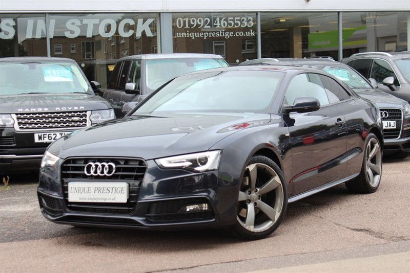 used Audi A5 TFSI S LINE BLACK EDITION in hertfordshire