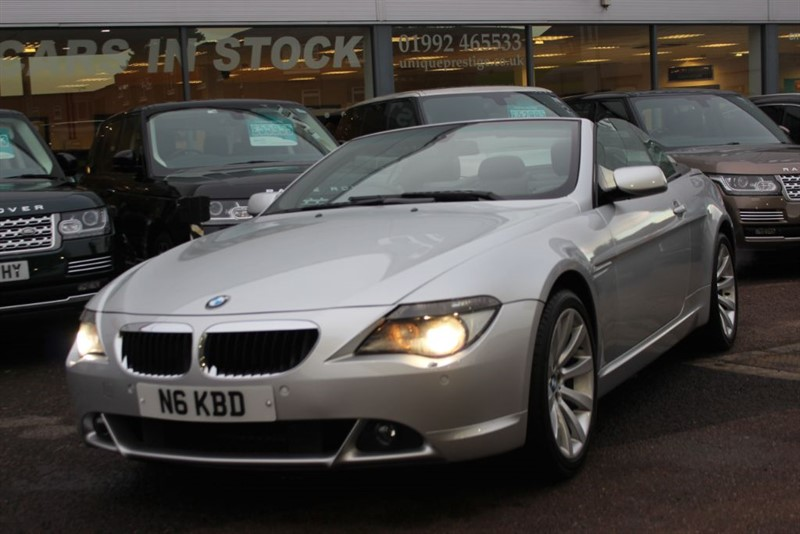 used BMW 630i SPORT in hertfordshire