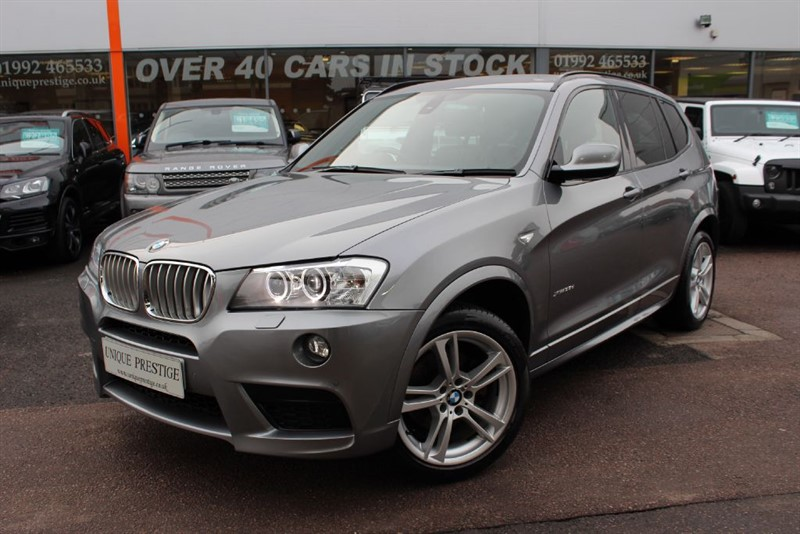 used BMW X3 XDRIVE35D M SPORT MASSIVE SPEC  in hertfordshire