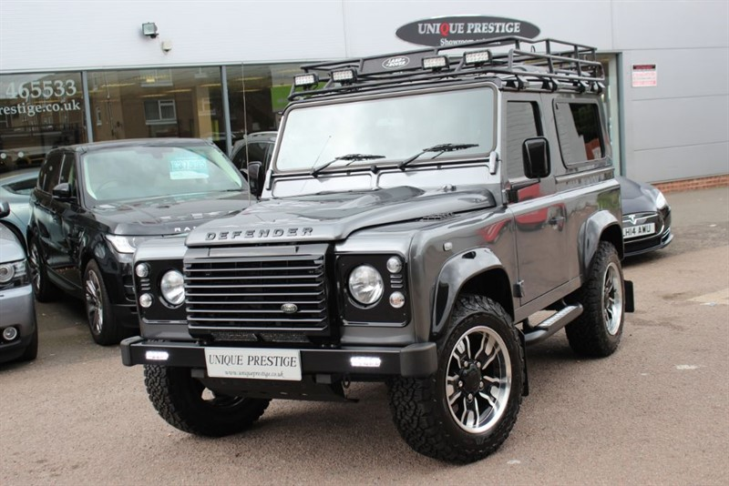 used Land Rover Defender BESPOKE 90 TD LANDMARK in hertfordshire