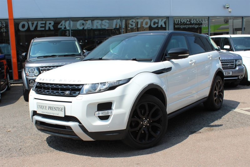 used Land Rover Range Rover Evoque SD4 DYNAMIC LUX in hertfordshire