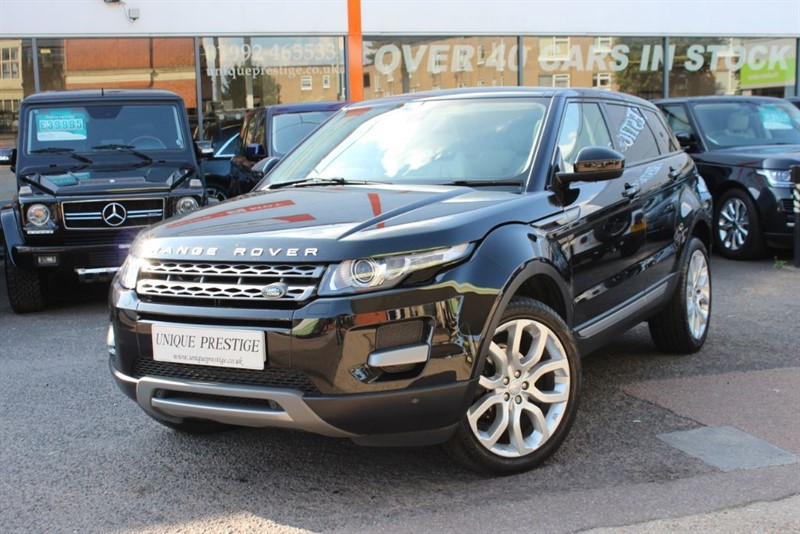 used Land Rover Range Rover Evoque SD4 PURE TECH in hertfordshire