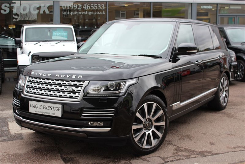 used Land Rover Range Rover SDV6 HEV AUTOBIOGRAPHY - VAT Q -  in hertfordshire