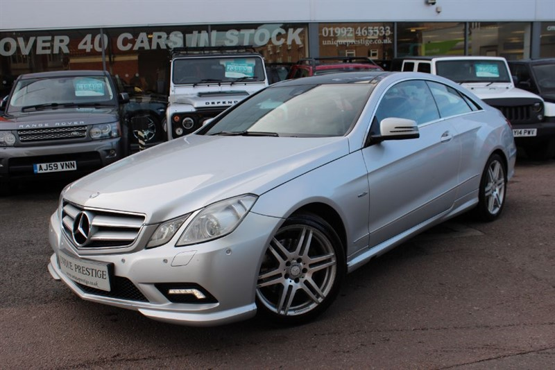 used Mercedes E350 CDI BLUEEFFICIENCY SPORT in hertfordshire