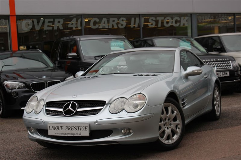 used Mercedes SL500 SL500 in hertfordshire
