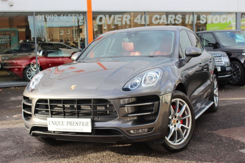 used Porsche Macan TURBO PDK in hertfordshire