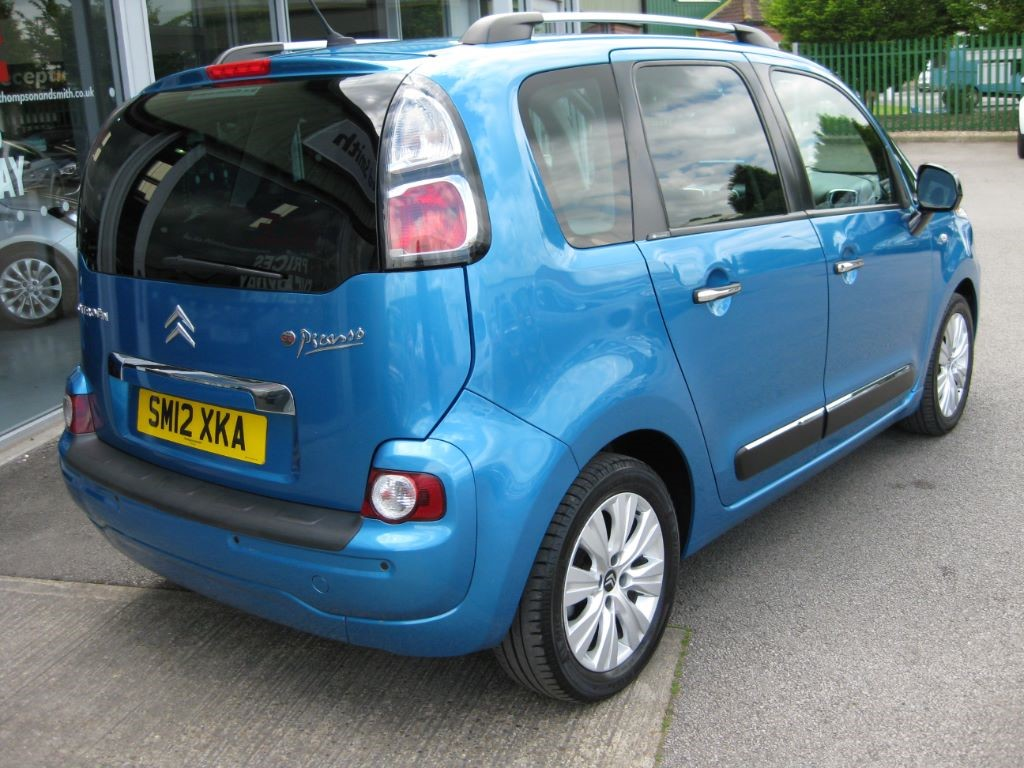used belle belle blue citroen c3 picasso for sale. Black Bedroom Furniture Sets. Home Design Ideas