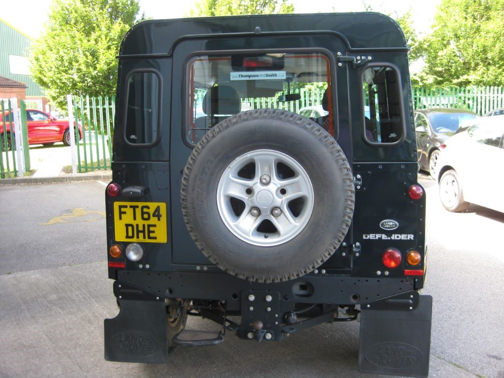 Used green metallic land rover defender for sale for Perm 132 motor for sale