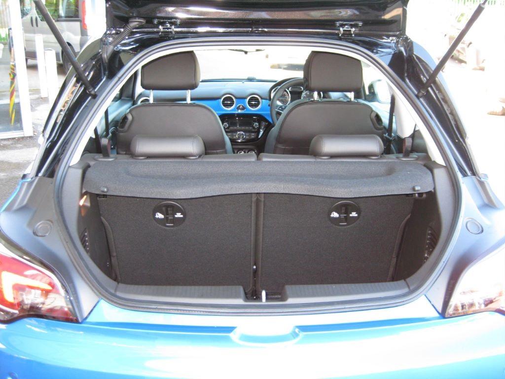 100 opel adam trunk 2015 vauxhall adam jam 7 295 adam auto medienportal net opel adam s. Black Bedroom Furniture Sets. Home Design Ideas