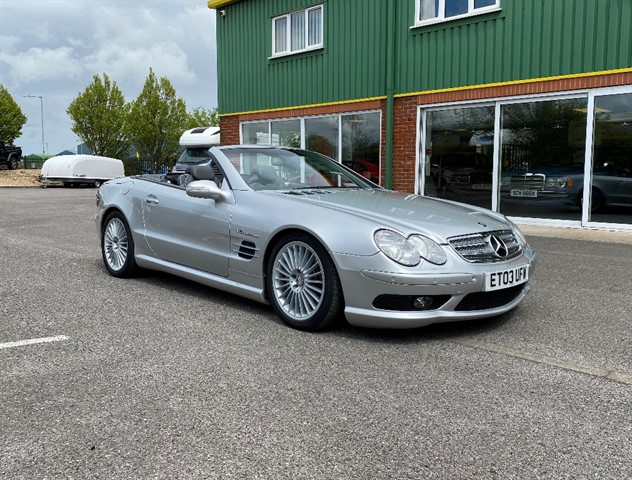 Mercedes SL55 AMG for sale
