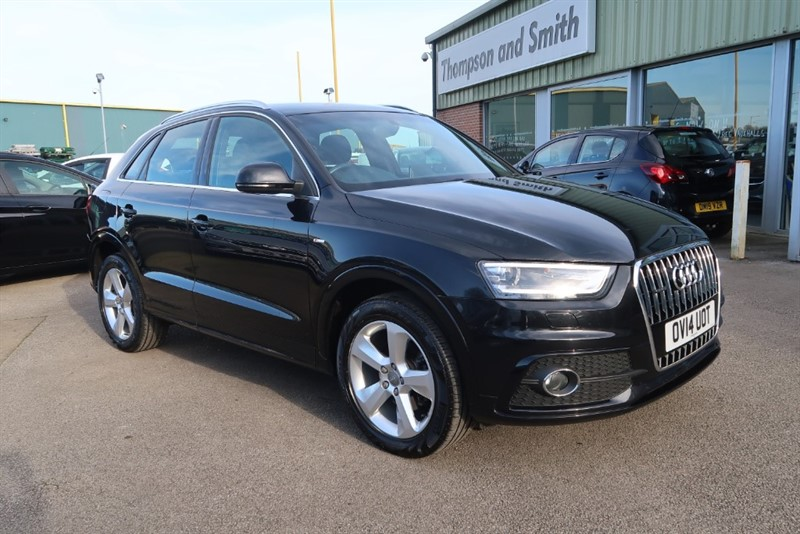 used Audi Q3 S Line 2.0TFSi Quattro (210PS) Stronic in louth
