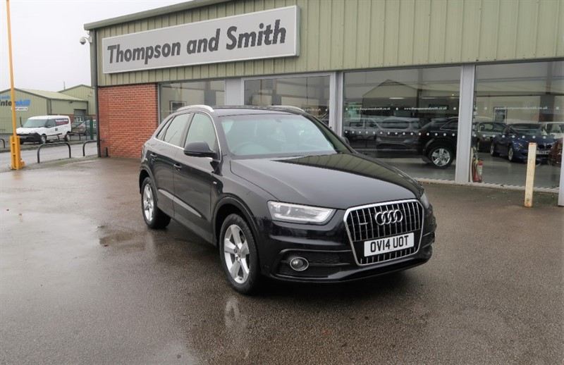 used Audi Q3 S Line 2.0TFSi Quattro (211PS) Stronic in louth