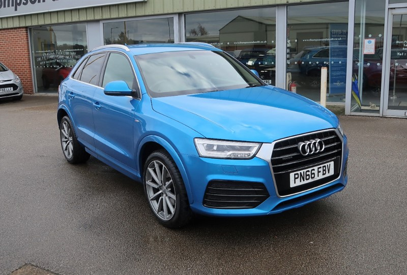 used Audi Q3 2.0TDI (184ps)Quattro S Line Navigation (s/s) Station Wagon 5 Door S Tronic in louth