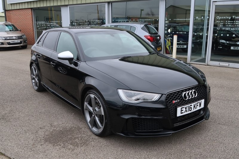 used Audi RS3 Sportback Quattro 2.5 (362BHP) NAV S Tronic in louth