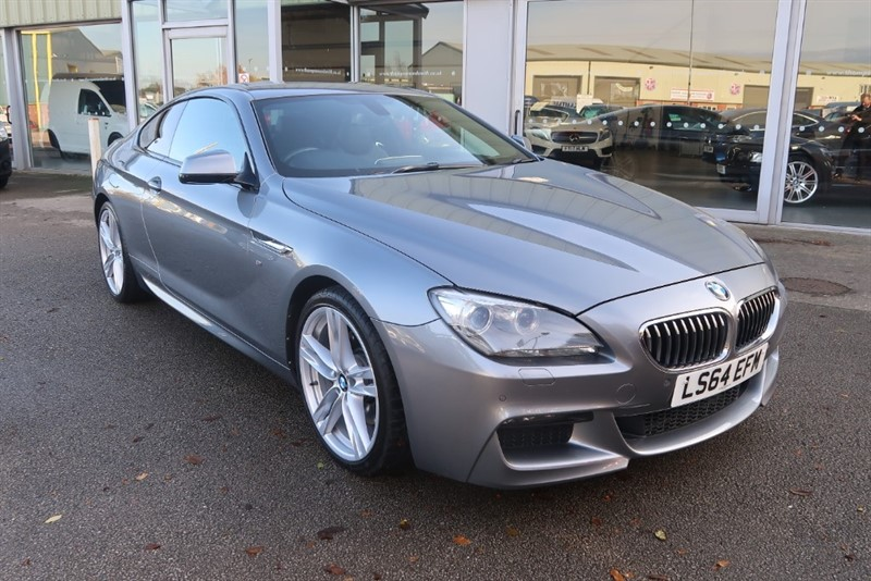 used BMW 640d 3.0 TD (313bhp) M SPORT Coupe 2dr Steptronic in louth