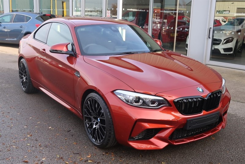 used BMW M2 Competition 3.0 2Dr Coupe M Sport Braking, ONLY 477 MILES ! ! in louth