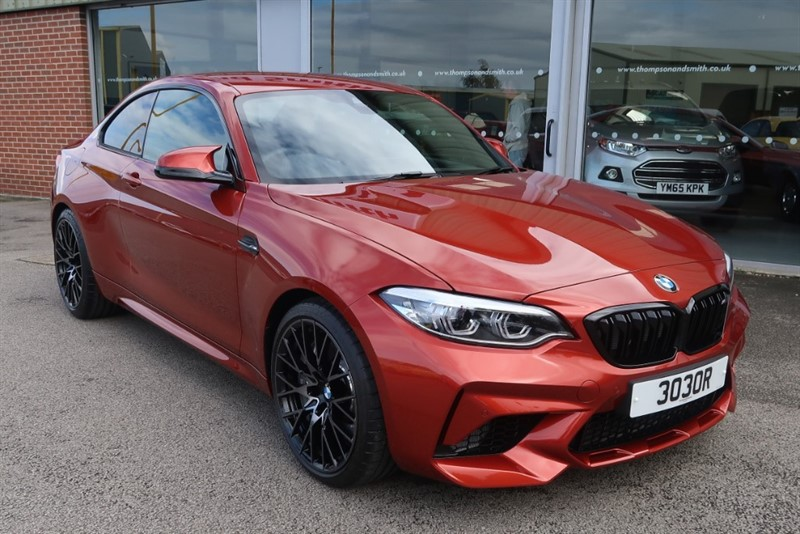 used BMW M2 Competition 3.0 2Dr Coupe M Sport Braking, ONLY 404 MILES ! ! in louth
