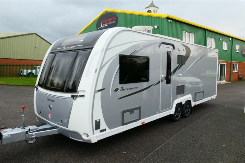 used Buccaneer  Cruiser Twin Axle 4 Berth, Only Towed for 40 miles ! ! in louth