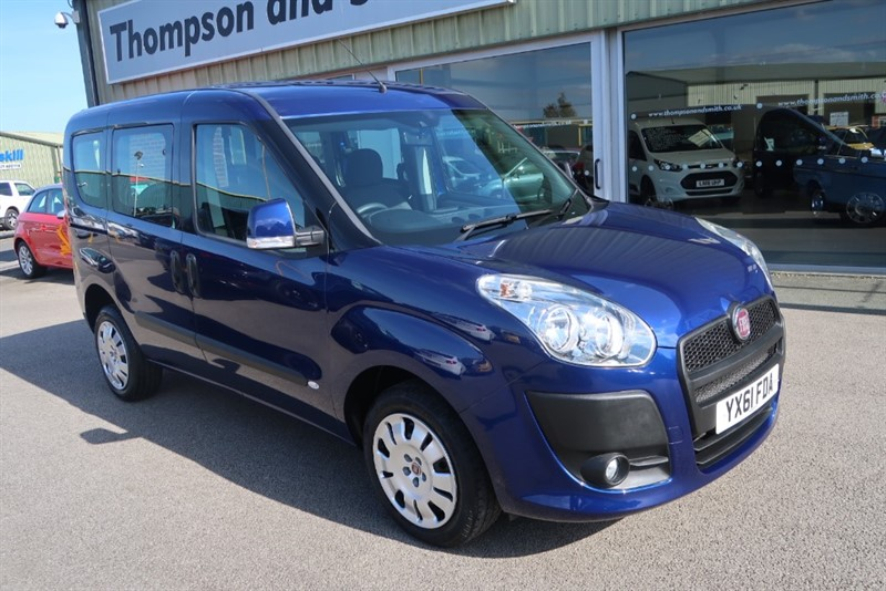 used Fiat Doblo My Life 1.4i 16v (95PS) Wheelchair Adapted Vehicle, only 12,000 miles ! ! in louth