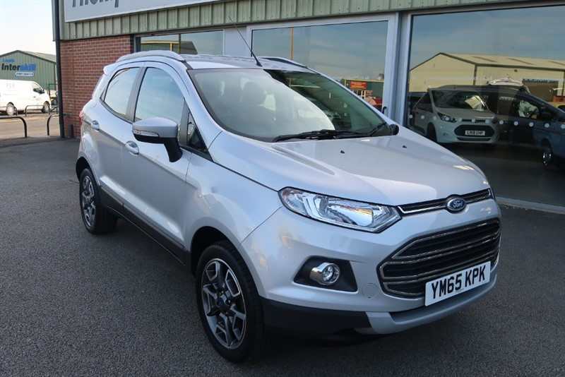 used Ford EcoSport 1.0T (125PS) Titanium EcoBoost 5dr in louth