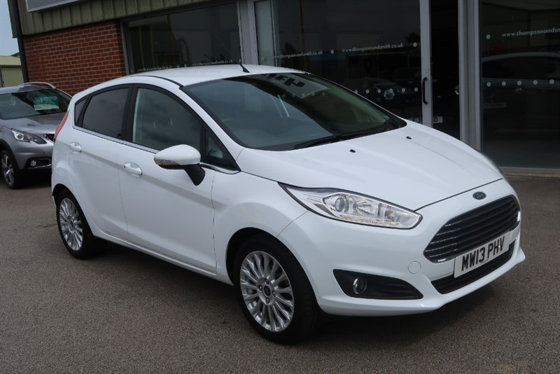 used Ford Fiesta Titanium 1.0 (125PS) EcoBoost S/S 5dr in louth