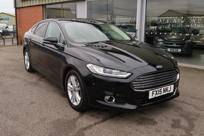 used Ford Mondeo Titanium 2.0TDCI ECOnetic 180PS 5dr in louth