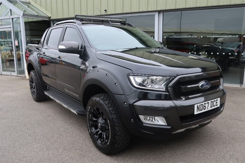 used Ford Ranger Wildtrak 3.2TDCi (200PS) 4x4 Dv8 Edition in louth