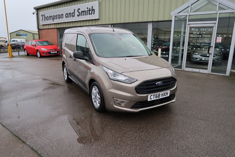 used Ford Transit Connect 220 L1 (120ps)  TREND DOUBLE CAB IN VAN 1.5 ECOBLUE TDCI 5 SEATS, 8 SPEED AUTO in louth