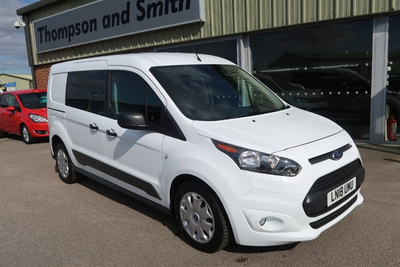 used Ford Transit Connect 1.5 (118Ps) 240 TREND P/V AUTO L2 H1, DELIVERY MILEAGE ! ! in louth