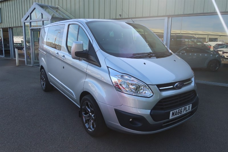 used Ford Transit Custom 310 Limited 2.0TDCi 130PS Double Cab SWB in louth