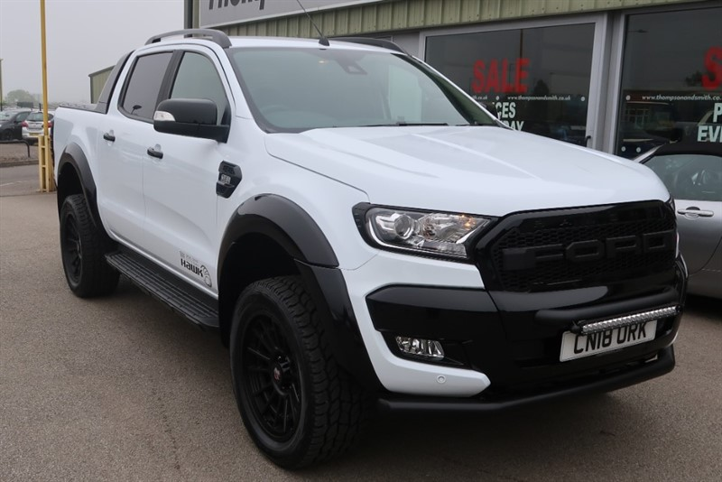 used Ford Ranger Wildtrack 3.2TDCi 4x4 Doublecab Auto Hawk Edition in louth