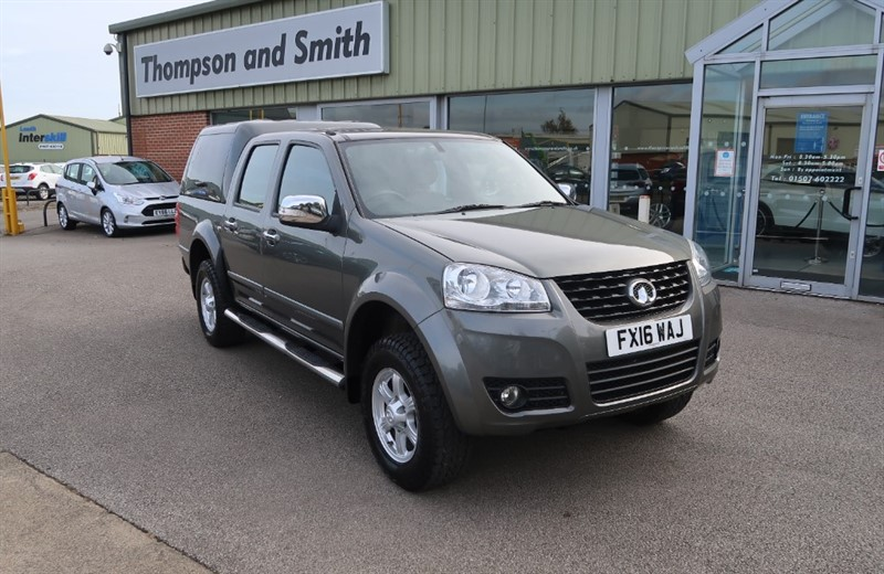 used Great Wall Steed Steed 2.0TD S (137PS) 4X4 Double Cab Pickup in louth
