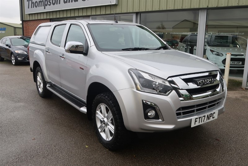 used Isuzu D-Max 1.9TD (162BHP) 4x4 Yukon Nav+ Doublecab Pick Up in louth