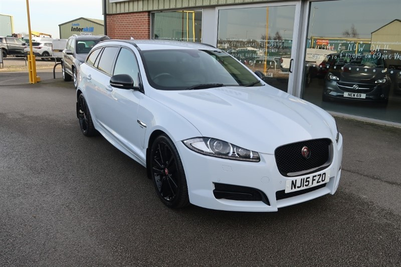 used Jaguar XF 2.2TD (200PS) R-Sport Black 5dr Estate Auto in louth