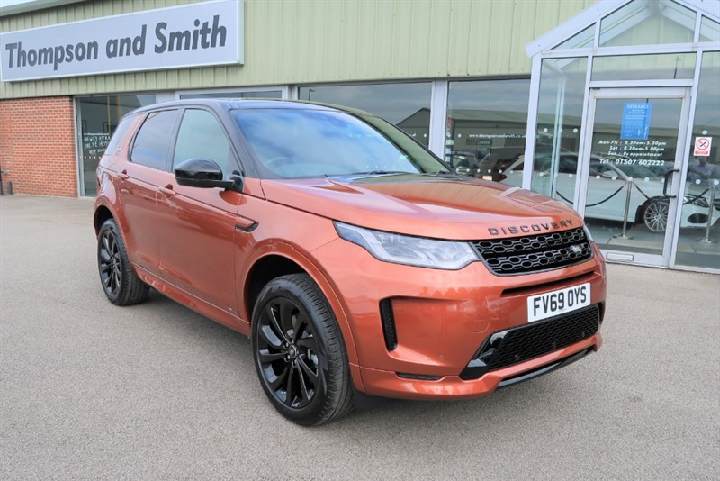 used Land Rover Discovery Sport R-DYNAMIC SE Black Pack in louth