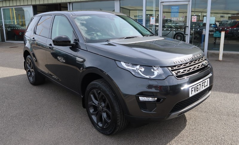 used Land Rover Discovery Sport SE Tech 2.0Td4 (180PS) 4X4 SUV 5dr Auto, Nav, Pan roof, Leather 19