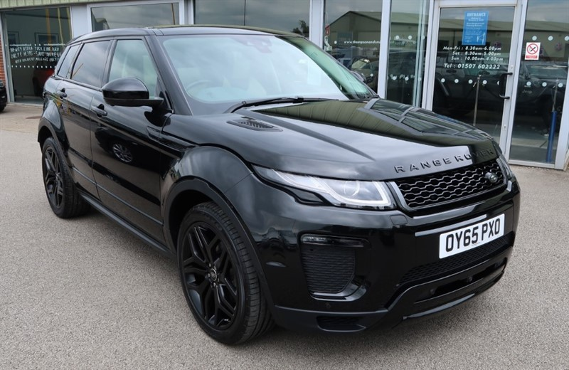 used Land Rover Range Rover Evoque HSE Dynamic Lux 2.0D 180PS 5dr Auto in louth