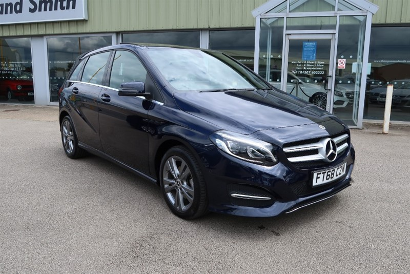 used Mercedes B180 Exclusive Edition Plus 5dr SAT NAV in louth
