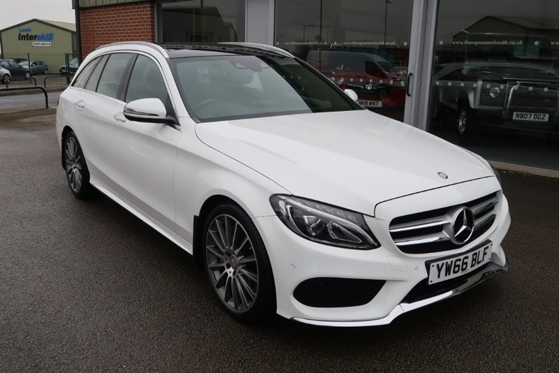 used Mercedes C250 C250d 2.1 CDi AMG LINE PREMIUM PLUS S/S Estate in louth