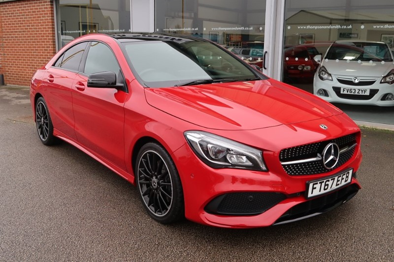 used Mercedes CLA 220 CDI CLA 220 D AMG Line Night Package in louth