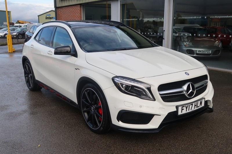 used Mercedes GLA45 AMG 4Matic Premium 5dr Auto Premium Package in louth
