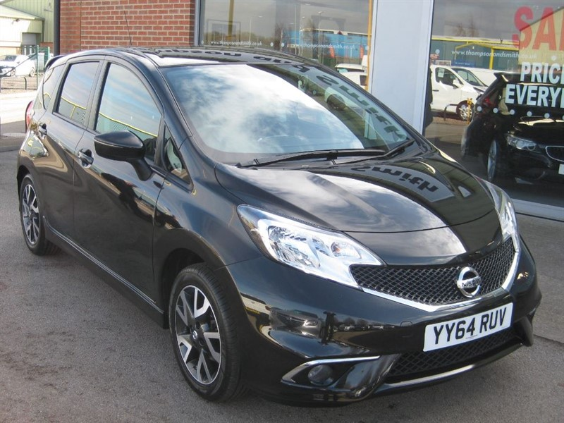 used Nissan Note Acenta Premium (Style Pack) 1.2 DIG-S (98PS) 5dr in louth